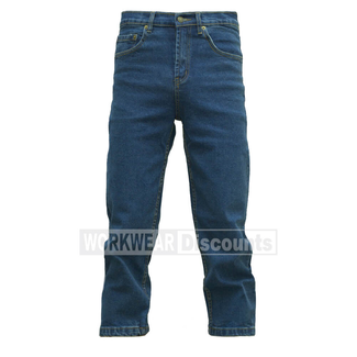 Judd's Workwear Judds Bold Premium Stonewash Stretch Denim Jeans
