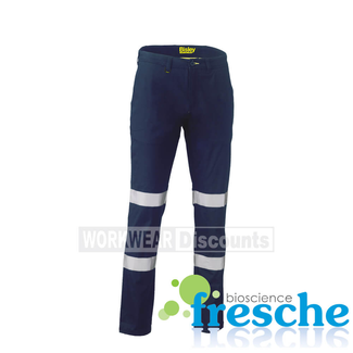 Bisley Bisley BP6008T Taped Biomotion Stretch Cotton Drill Work Pants