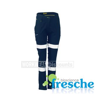 Bisley Bisley BPL6015T Womens Taped Stretch Cotton Pants
