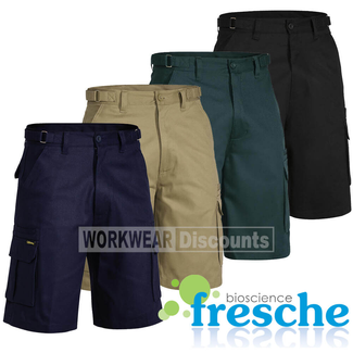 Bisley Bisley BSHC1007 Cotton Drill Cargo Shorts