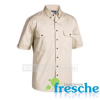 Bisley Bisley BS1255 Cotton Twill Shirt Short Sleeve