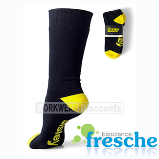 Bisley Bisley BSX7210 Full Terry Cotton Elastine Work Socks