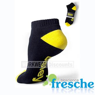 Bisley Bisley BSX7215 Half Terry Cotton Elastine Ankle Socks