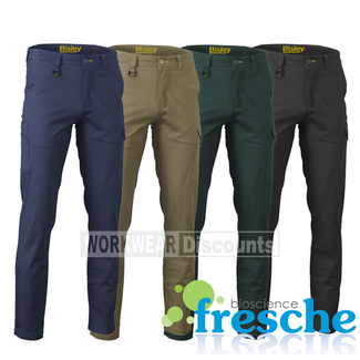 Bisley Bisley BPC6008 Stretch Cotton Drill Cargo Pants