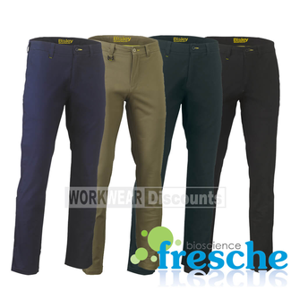 Bisley Bisley BP6008 Stretch Cotton Drill Work Pants
