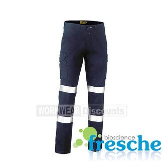 Bisley Bisley BPC6008T Taped Biomotion Stretch Cotton Drill Cargo Pants