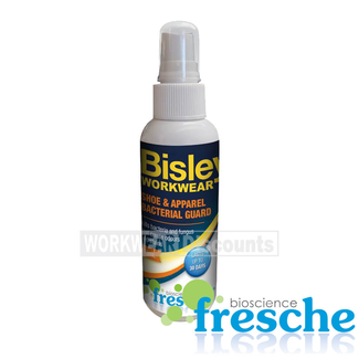 Bisley Bisley BFS0061 Shoe and Apparel Bacterial Guard
