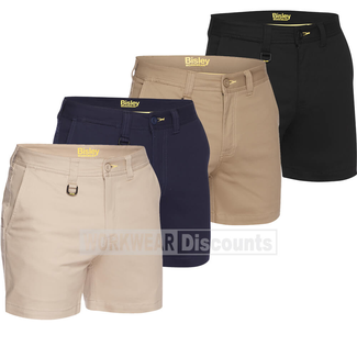 Bisley Bisley BSH1008 Mens Stretch Cotton Short Shorts