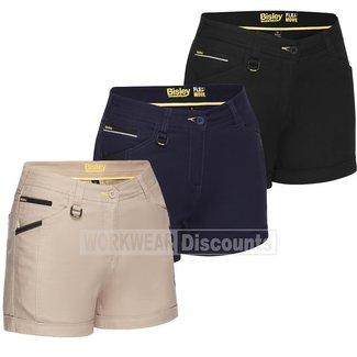 Bisley Bisley BSHL1045 Womens Flex & Move™ Short Shorts