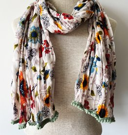 LITTLE JOURNEYS INCOOA LITTLE JOURNEYS GIRASOL SCARF