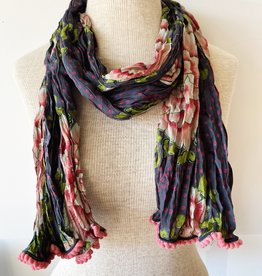 LITTLE JOURNEYS INCONA LITTLE JOURNEYS PEONIES SCARF