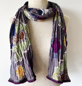 LITTLE JOURNEYS INCOAA LITTLE JOURNEYS PAINTED SCARF