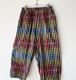 ALEMBIKA SP307P ALEMBIKA GINGHAM COTTON PANT