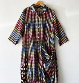 ALEMBIKA SD622P ALEMBIKA GINGHAM PRINT WONDERFUL DRESS