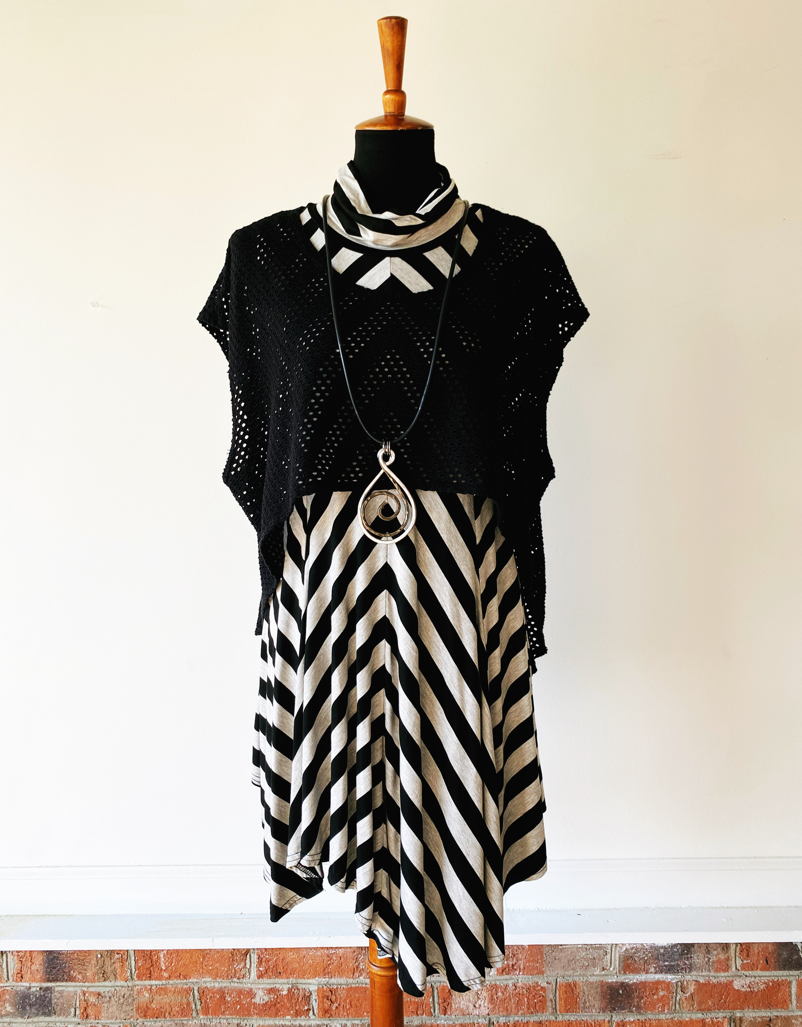 CYNTHIA ASHBY STRIPED TUNIC