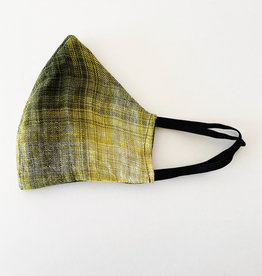 M SQUARE M SQUARE FACE MASK GREEN PLAID
