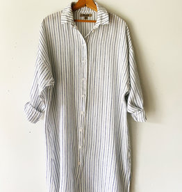 FLAX FLAX SHIRTDRESS