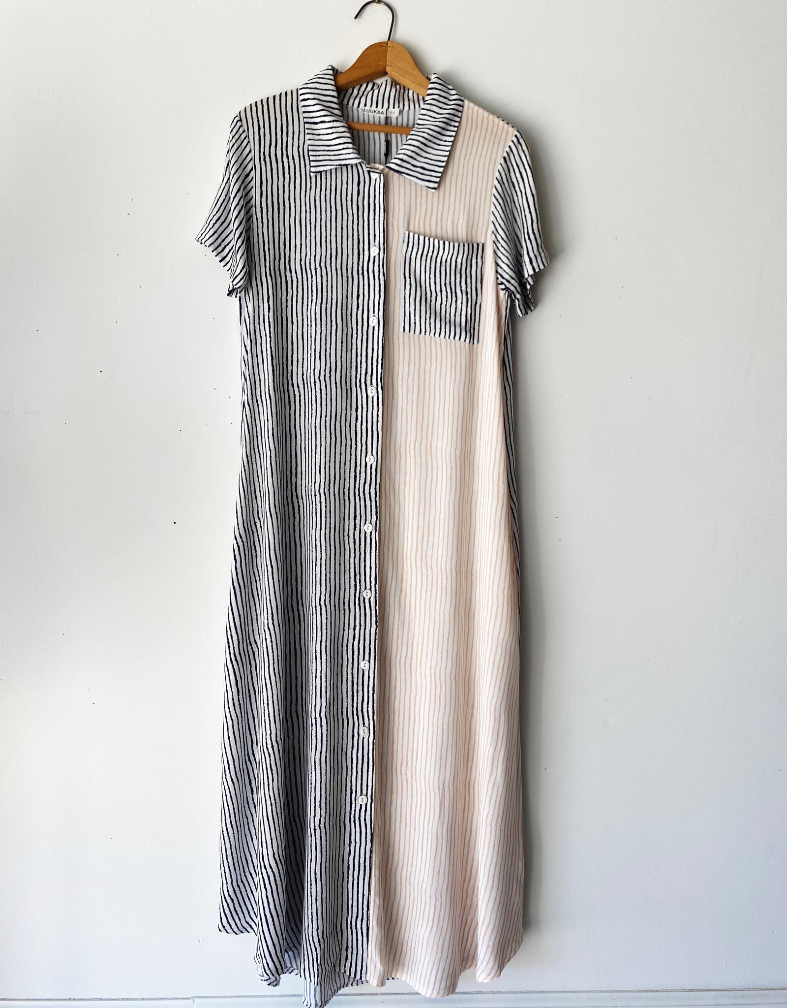 LUUKAA 20Y0512 LUUKAA SHIRT DRESS