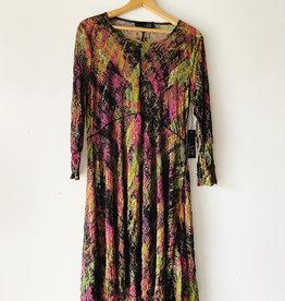 LIV A151503 LIV MESH PRINT CHARLOTTE DRESS