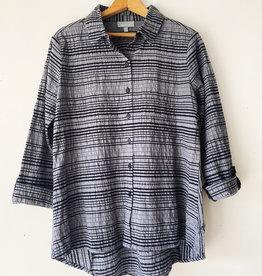 HABITAT A65126 HABITAT VARIGTD STR SHAPED SHIRT