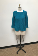 CUT LOOSE TRUNK SHOW 6375060 CUT LOOSE 3/4 SLV BOATNECK TOP
