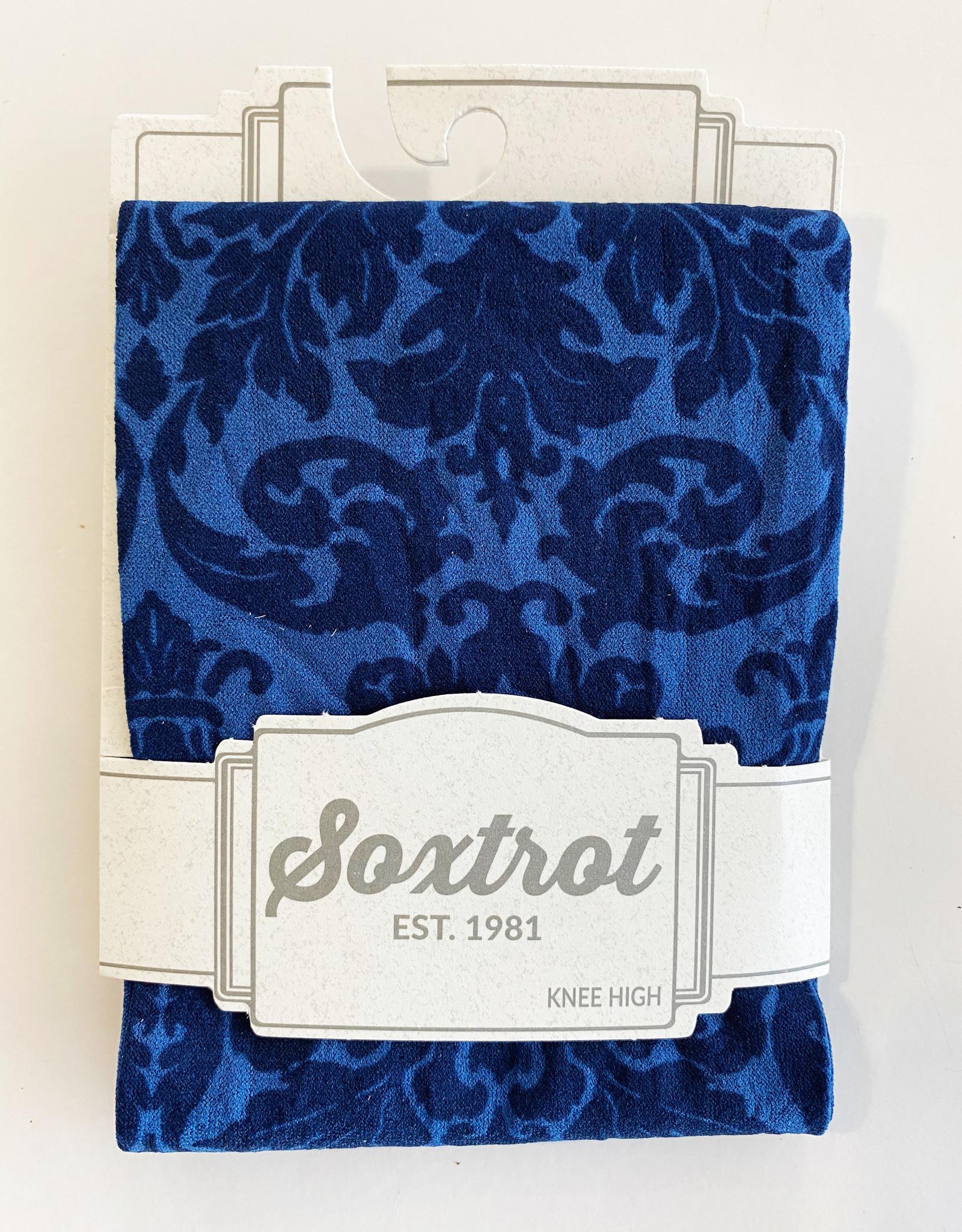 SOXTROT SOXTROT BLUE DAMASK CADET