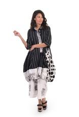 ALEMBIKA ALEMBIKA TAFETTA STRIPE WONDERFUL DRESS SD224S