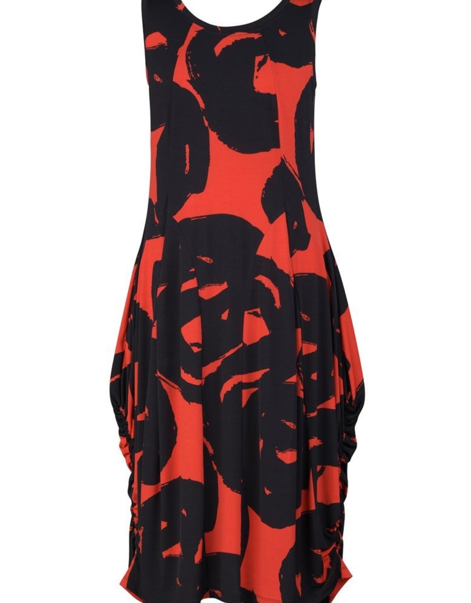 ALEMBIKA ALEMBIKA SD220T ART PRINT TANK DRESS
