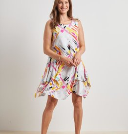 HABITAT HABITAT CORE ABSTRACT DRESS 60081