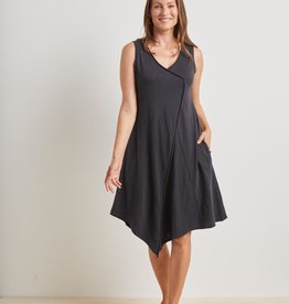 HABITAT HABITAT COTTON PEBBLE ASYM DRESS 27580
