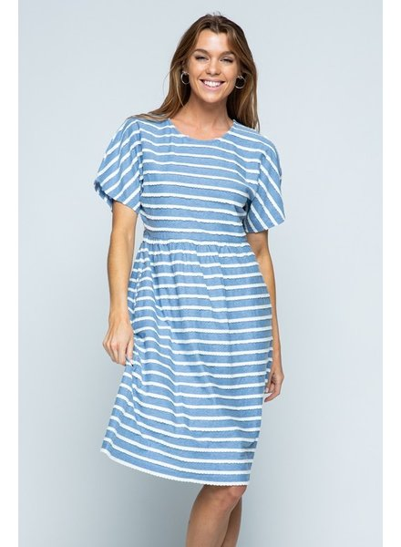 Blue Bird Midi Dress