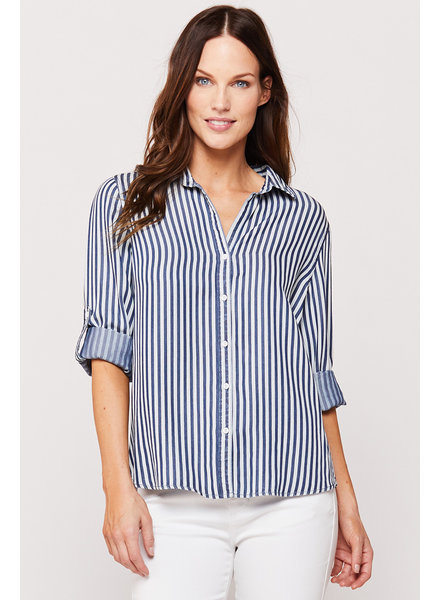 Mckenna Stripe Button Up