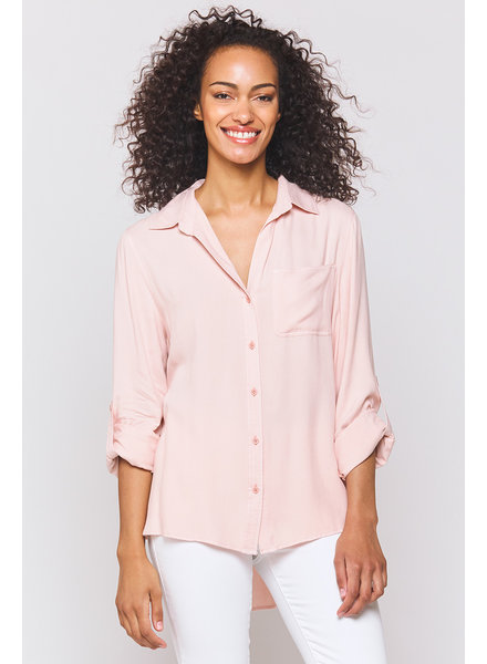 Elisa Blush Blouse