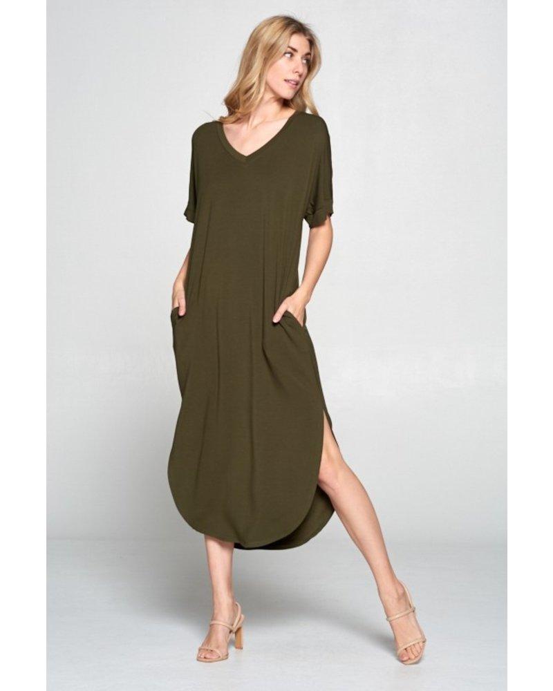 Buttermilk Terry Dress