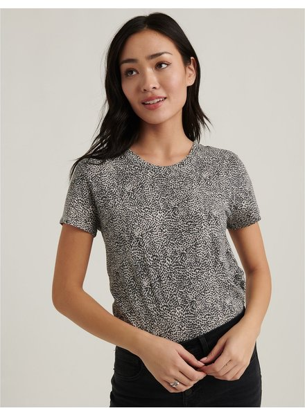 Lucky Brand Dewey Dotted Tee