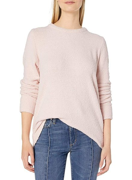 Lucky Brand Puffy Pink Sweater