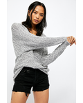 Free People Bright Lights V Sweater