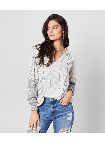 Lucky Brand Vines To The Stars Top