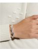 Lucky Brand Heart Link Bracelet