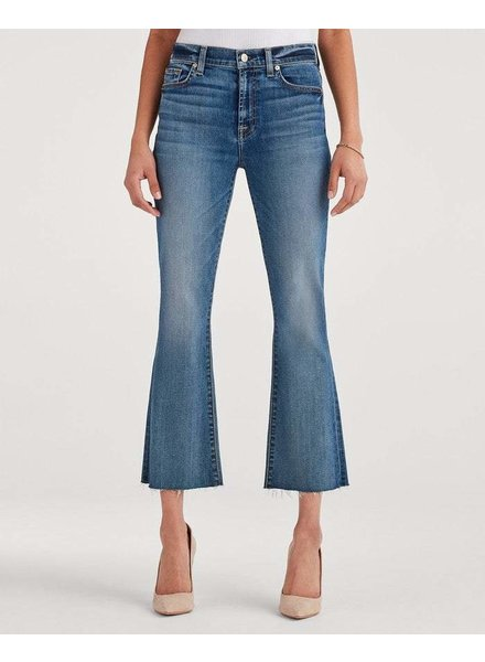 7 For All Mankind Slim Kick High Waist Pants