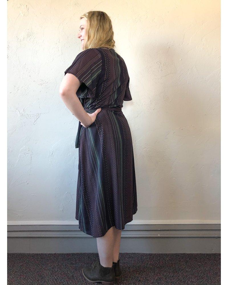 Wrap Party Dress