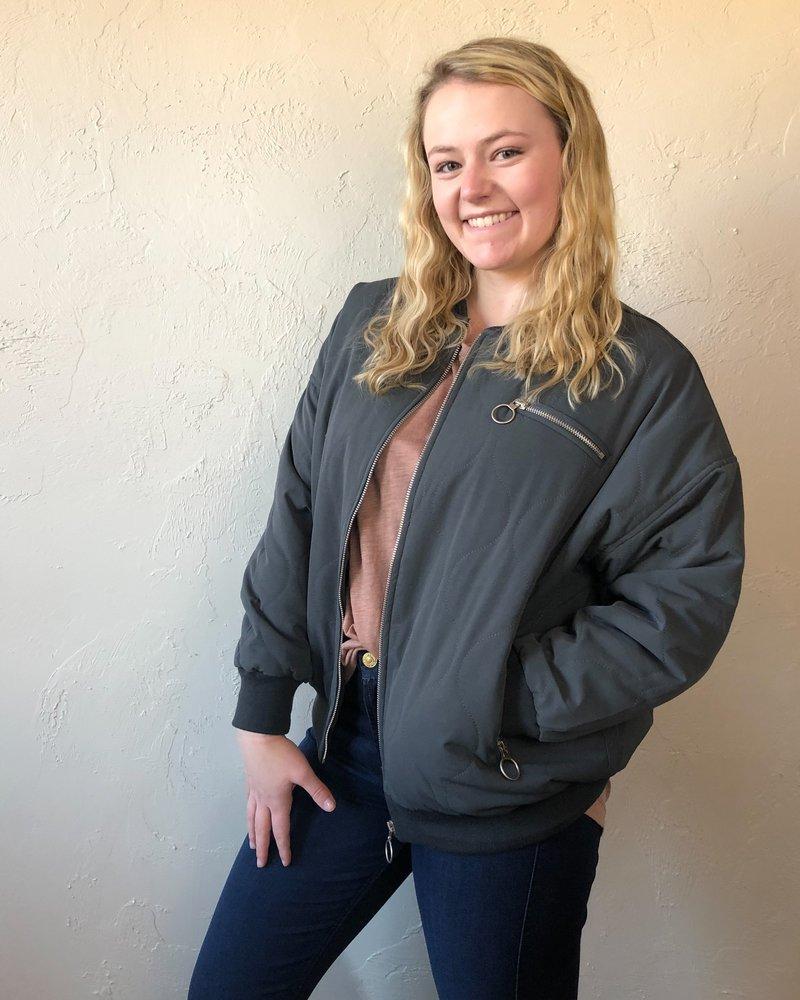 Silver Springs Zipper Rings Jacket
