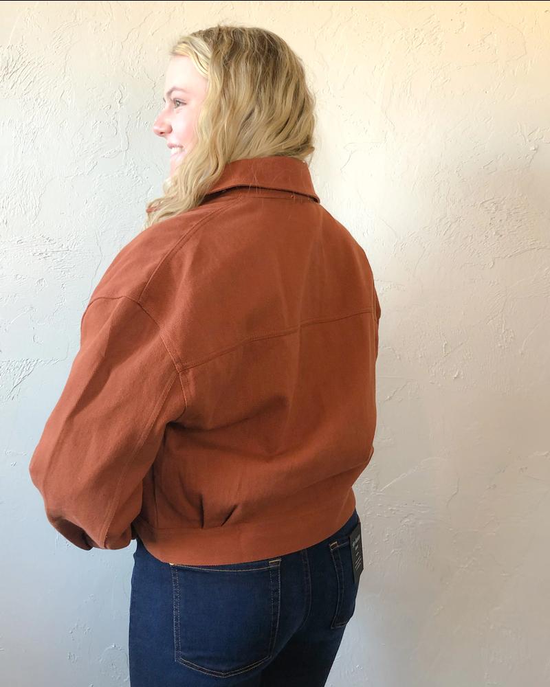 Rust My Luck Denim Jacket