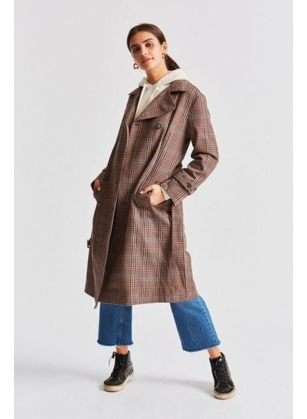 Brixton Bellevue Trench Coat