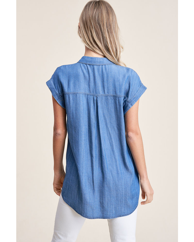 Fave Chambray Top