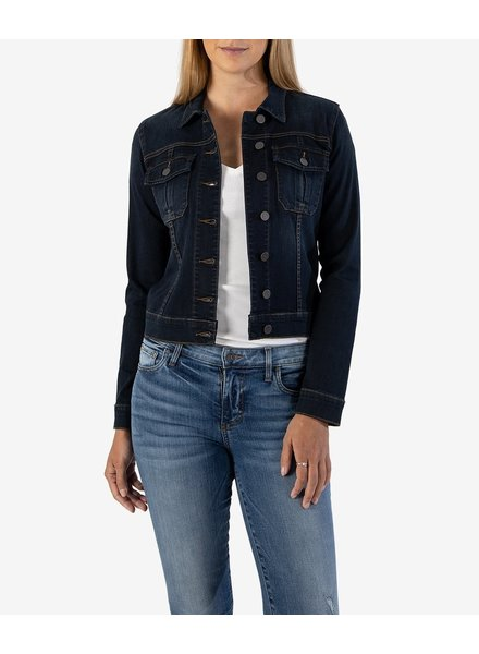 KUT From The Kloth Enlighten Amelia Denim Jacket