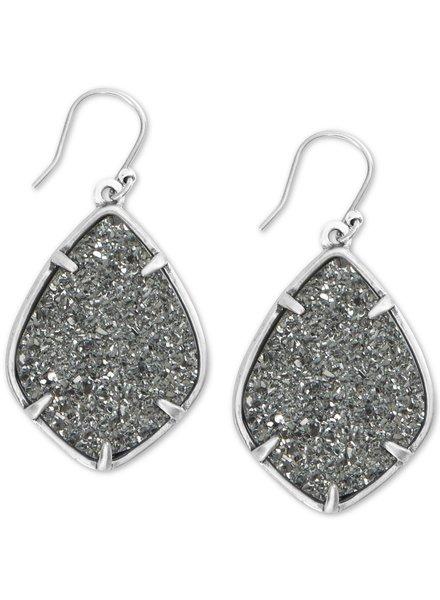 Lucky Brand Druzy Diamond Drop