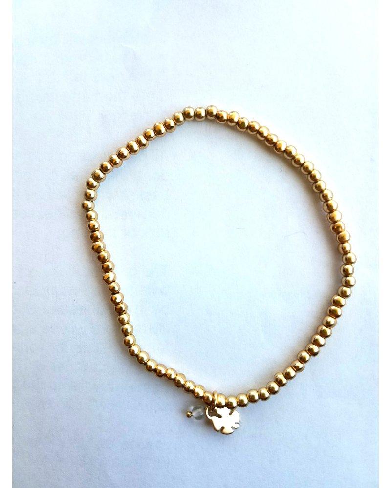 Lucky Brand Gold Bracelet & Earring Set