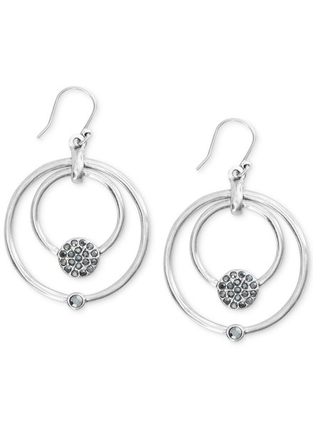 Lucky Brand Open Circle & Bead Drop Earring