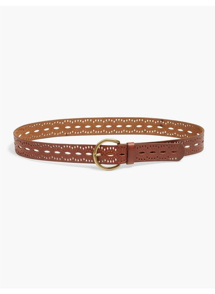 Lucky Brand Beachwood Cutout Belt
